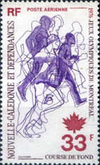 [Airmail - Olympic Games - Montreal, Canada, Typ KJ]