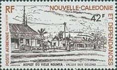 [Airmail - Views of Old Noumea, Typ LF]
