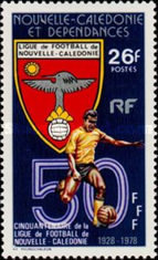 [The 50th Anniversary of New Caledonian Football League, Typ LS]