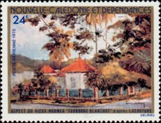[Airmail - Views of Old Noumea, Typ LT]