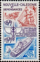 [Airmail - The 100th Anniversary of New Caledonia Chamber of Commerce and Industry, Typ LZ]