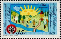 [Airmail - International Year of the Child, Typ MA]