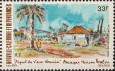 [Airmail - Views of Old Noumea, type NE]