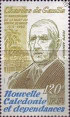 [Airmail - The 10th Anniversary of the Death of Charles de Gaulle, 1890-1970, type NF]