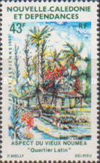 [Airmail - Views of Old Noumea, Typ NY]