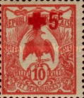 [Red Cross - Surcharged 5c, type O7]