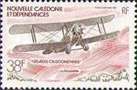 [Airmail - New Caledonian Aircraft, type OD]