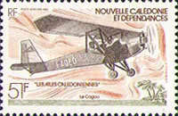 [Airmail - New Caledonian Aircraft, type OE]