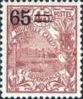 [Previous Stamps Surcharged, type P17]