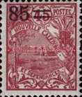 [Previous Stamps Surcharged, type P18]