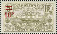 [Previous Stamps Surcharged, type Q9]