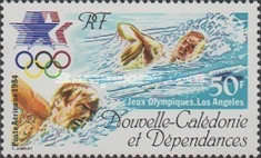 [Airmail - Olympic Games - Los Angeles, USA, Typ QE]