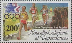[Airmail - Olympic Games - Los Angeles, USA, Typ QG]