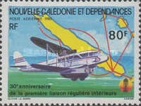 [Airmail - The 30th Anniversary of First Regular Internal Air Service, Typ RB]