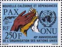 [The 40th Anniversary of the United Nations, Typ RC]