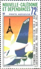 [Airmail - The 30th Anniversary of Scheduled Paris-Noumea Flights, Typ RG]