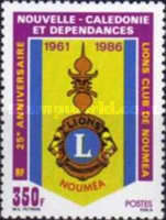 [The 25th Anniversary of Noumea Lions Club, Typ RZ]