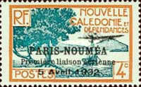 [Airmail - The 1st Anniversary of Paris-Noumea Flight, type S10]