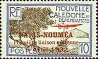 [Airmail - The 1st Anniversary of Paris-Noumea Flight, type S12]