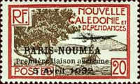 [Airmail - The 1st Anniversary of Paris-Noumea Flight, type S14]