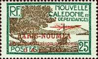 [Airmail - The 1st Anniversary of Paris-Noumea Flight, type S15]