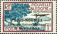 [Airmail - The 1st Anniversary of Paris-Noumea Flight, type S8]