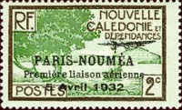[Airmail - The 1st Anniversary of Paris-Noumea Flight, type S9]