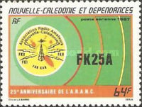 [Airmail - The 25th Anniversary of New Caledonia Amateur Radio Association, Typ SC]