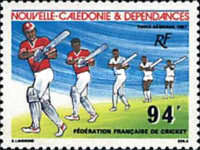 [Airmail - French Cricket Federation, Typ ST]
