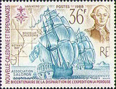 [The 200th Anniversary of Disappearance of La Perouse's Expedition, Typ SY]