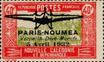 [Airmail - Paris-Noumea Flight, type T12]
