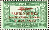 [Airmail - The 1st Anniversary of Paris-Noumea Flight, Typ T14]