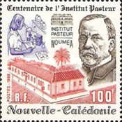 [The 100th Anniversary of Pasteur Institute, Paris, Typ TN]