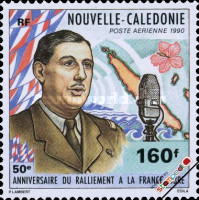 [Airmail - The 50th Anniversary of De Gaulle's Call to Resist, type UX]
