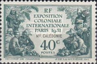 [International Colonial Exhibition - Paris, France, Typ V]