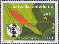 [The Three Provinces of New Caledonia, Typ VU]