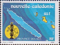 [The Three Provinces of New Caledonia, type VV]