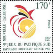 [The 9th South Pacific Games, Papua New Guinea, type WB]