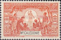 [International Colonial Exhibition - Paris, France, type X]