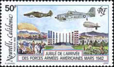 [The 50th Anniversary of Arrival of American Forces in New Caledonia, Typ XD]