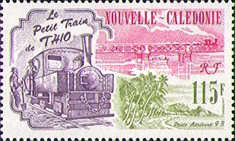[Airmail - The 100th Anniversary of Little Train of Thio, Typ XU]