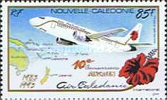 [Airmail - The 10th Anniversary of Air Caledonia International, Typ XZ]