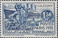 [International Colonial Exhibition - Paris, France, type Y]