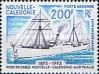 [Airmail - The 100th Anniversary of New Caledonia-Australia Telecommunications Cable, Typ YA]