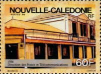 [Postal Administration Head Offices of New Caledonia, Typ ZA]