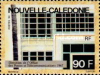 [Postal Administration Head Offices of New Caledonia, Typ ZB]
