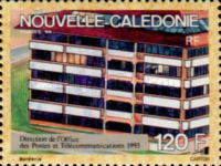 [Postal Administration Head Offices of New Caledonia, Typ ZC]