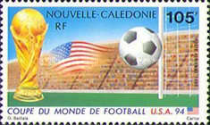 [Airmail - Football World Cup - U.S.A., Typ ZF]