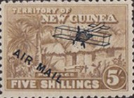 "[Airmail - No. 1-13 Overprinted ""AIRMAIL"" and Plane, type B10]"