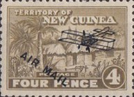 "[Airmail - No. 1-13 Overprinted ""AIRMAIL"" and Plane, type B5]"